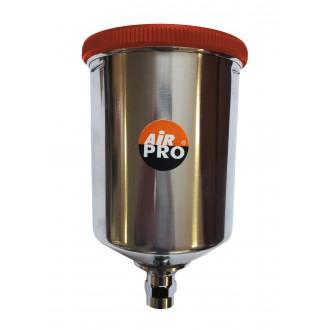 Верхний бачок алюминиевый 0,6 л для краскопультов Air Pro STP-600