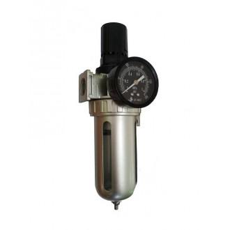 """Фильтр очистки 1/2"""" + регулятор давления (редуктор) с манометром EMC EFRL 804-04"""