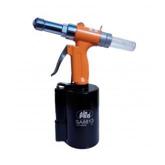 Заклепочник пневматический вытяжной для спецзаклепок Air Pro SA8813