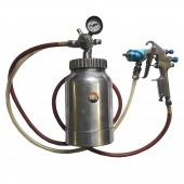 Бак нагнетательный 2,2 л + краскопульт 1,0 мм + шланг 2 м пневматический Air Pro 77-2QT