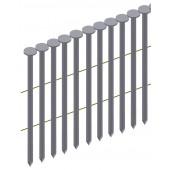 Гвоздь рифленый никелированый в бобине Prebena типа CNW 2,1/40 (14,7 тис. шт.)
