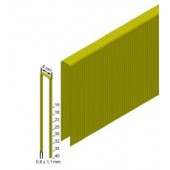 Скоба каркасная (столярная) Prebena типа ES-15 (8,8 тис. шт.)