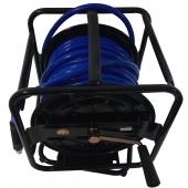 Шланг полиуретановый прямой с быстросъемником на вращающейся 360° катушке Air Pro HR02DX6540 (6,5х10х40 м)